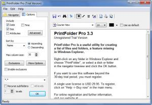 Enlarge PrintFolder Pro Screenshot