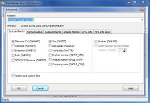 Enlarge PrintFolder Pro Screenshot