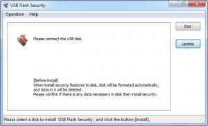 Enlarge USB Flash Security Screenshot