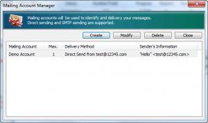 Enlarge EMS Bulk Email Sender Screenshot