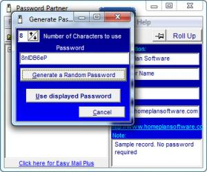 Enlarge Password Partner Screenshot
