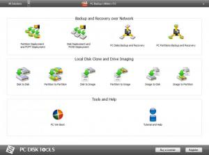 Enlarge PC Backup Utilities Free Screenshot