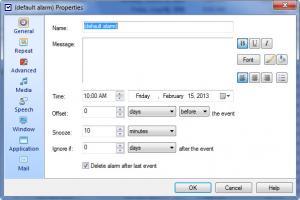 Enlarge Alarm++ Screenshot