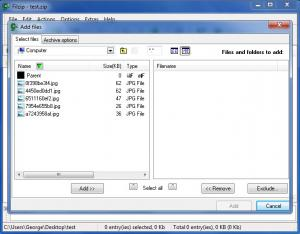 Enlarge Filzip Screenshot